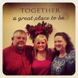 John, Rachel & Deanna Woods, the OKC Mission Family.