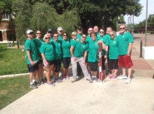 Team Griffin at the 2014 Dallas Promise Walk.
